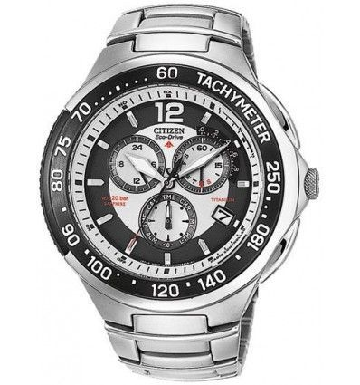 RELOJ CITIZEN Chrono Titanium Radio Controlled AS4006-53A CABALLERO.