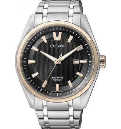 RELOJ CITIZEN AW1244-56E ECO-DRIVE Ti+IP SUPER TITANIUM