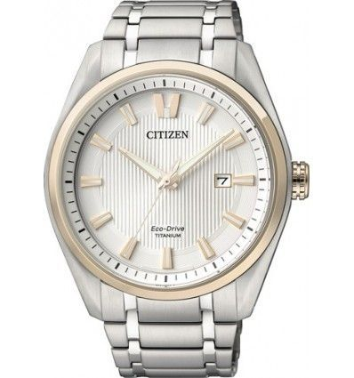 RELOJ CITIZEN AW1244-56A ECO-DRIVE Ti+IP SUPER TITANIUM