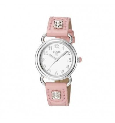 BUBBLE SS + PINK DIAL AND STRAP MUJER.