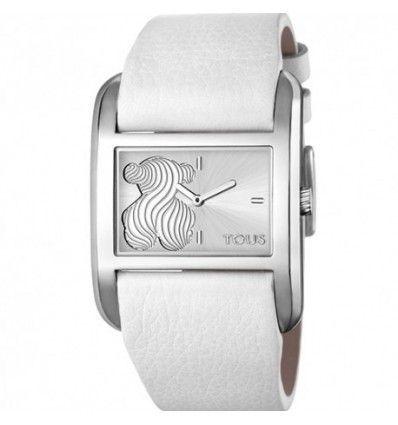 Reloj TOUS 000351345 PRINT ACERO CORREA BLANCA MUJER