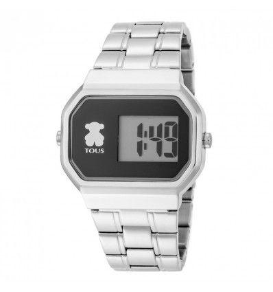 Reloj TOUS 600350295 D-BEAR SS DIG BRAZALETE ESF NEGRA MUJER