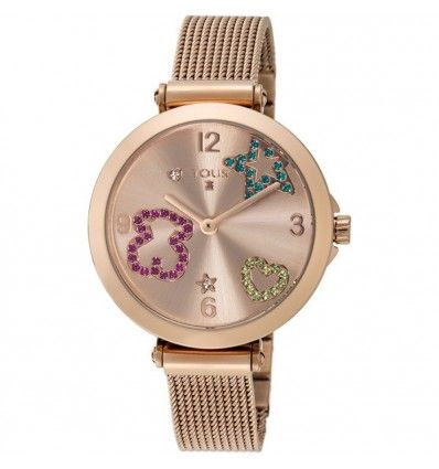 Reloj TOUS 600350390 ICON MESH IPRG ESF ROSE SIMIL COLOR EST MUJER