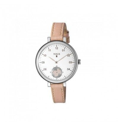 Reloj TOUS 600350435 SPIN SS ESF SILVER OSO CORREA NUDE MUJER