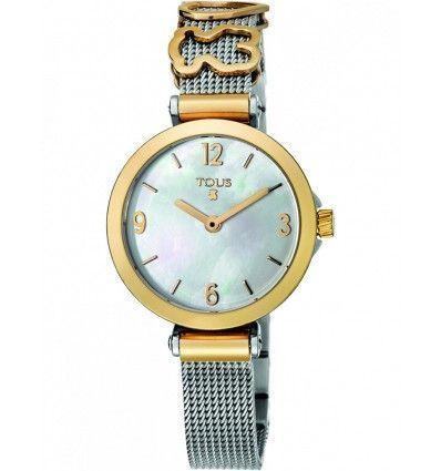 Reloj TOUS 700350165 ICON CHARMS SS/IPG ESF NACAR ESTERILLA MUJER