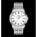 RELOJ TISSOT CLASSIC DREAM STEEL WHITE DIAL T0334101101301