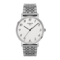 RELOJ EVERYTIME STEEL SILVER DIAL T1094101103200
