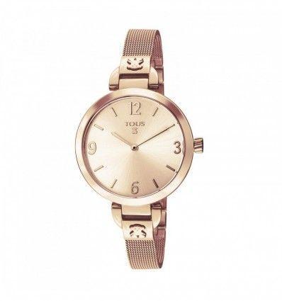 Reloj TOUS 300350625 Reloj Bohème de acero IP rosado