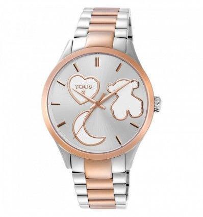 Reloj TOUS 800350800 Reloj Sweet Power bicolor de acero/IP rosado