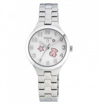 Reloj TOUS 700350045 Reloj Muffin de acero