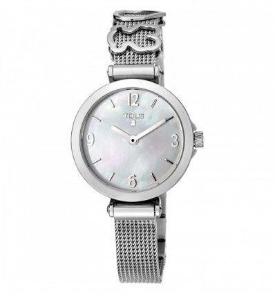 Reloj TOUS 700350155 Reloj Icon Charms de acero con nácar