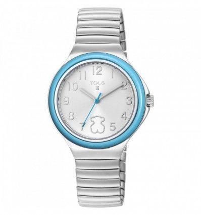 Reloj TOUS 800350650 Reloj Easy de acero con bisel menta
