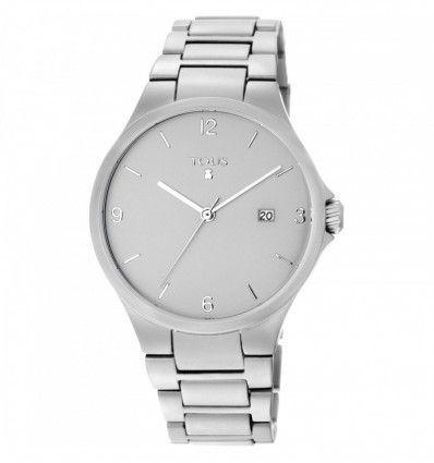Reloj TOUS 800350655 Reloj Motion Aluminio de aluminio anodizado plateado