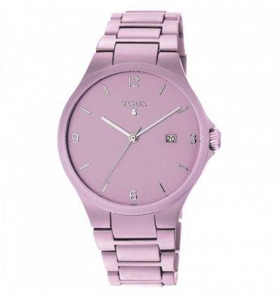 Reloj TOUS 800350670 Reloj Motion Aluminio de aluminio anodizado rosa