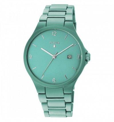 Reloj TOUS 800350680 Reloj Motion Aluminio de aluminio anodizado turquesa