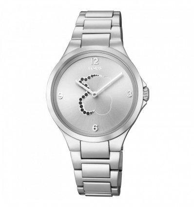 Reloj TOUS 700350205 Reloj Motion de acero con espinelas