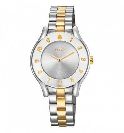 Reloj TOUS 700350235 Reloj Errold bicolor de acero/IP dorado