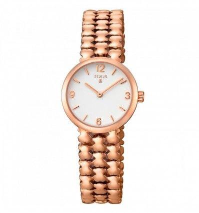 Reloj TOUS 700350255 Reloj Parade de acero IP rosado