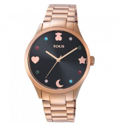 Reloj TOUS 800350720 Super Power de acero IP rosado