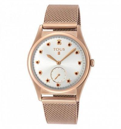 Reloj TOUS Free de acero IP rosado